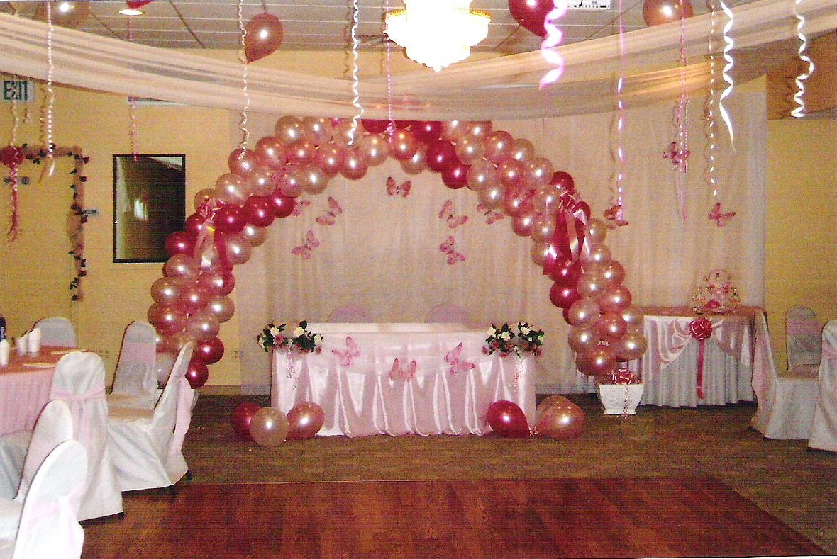 New page title for Baby shower hall decoration